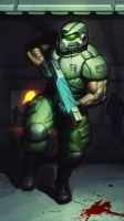 Doomguy33344567891011sf by PitBOTTOM