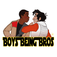Boys Being Bros by katseartist