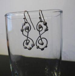 Soldered Wire Earrings by smelliga