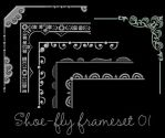 Paint Shop Pro frame set 01 by shoe-fly