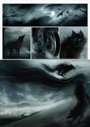 Ivan and the Grey Wolf by Heylenne