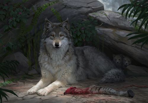 Pack Mother by LeeshaHannigan