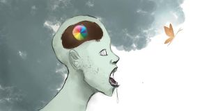 The Beach Ball In Your Mind by PaintingSaint