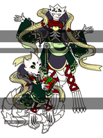[C] Chibi + Full Body for Holiday Spirit Adopt by NobleTanu
