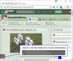 One Click Llama Button Helper v0.15 (Out of date) by HampshireBrony