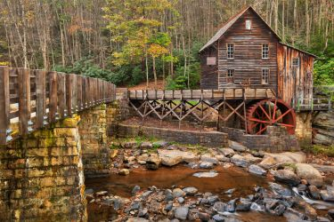 Glade Creek Grist Mill by somadjinn