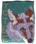Finished Yotee Beaded Badge by arikla