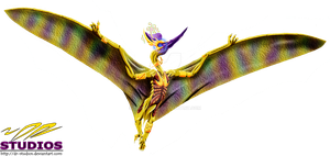 God of Nobility - The Pteranodon by DR-Studios