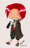 One Piece: Chibi Shanks by aaamaaa