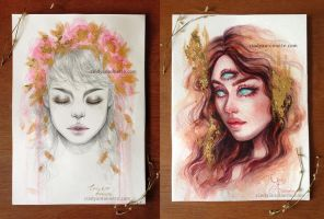 Mix Media Originals (AVAILABLE) by Amourinette