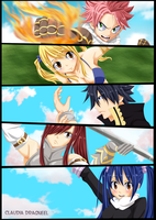 FAIRY TAIL by claudiadragneel