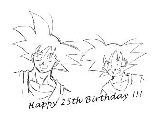 Happy Birthday by Vanesshenron