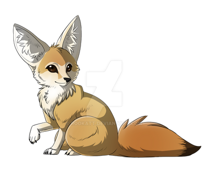 Fennec Fox by Rookatt