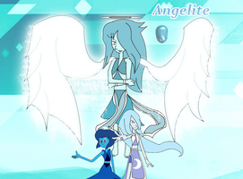 Angelite: Lapis and Moonstone Fusion by ToonEmpire24