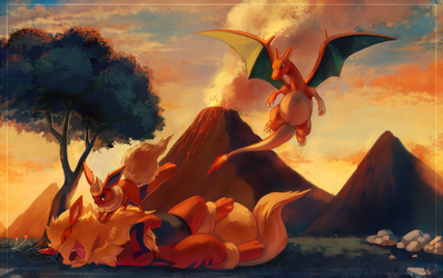 :C: Blazing Sunset by KoriArredondo