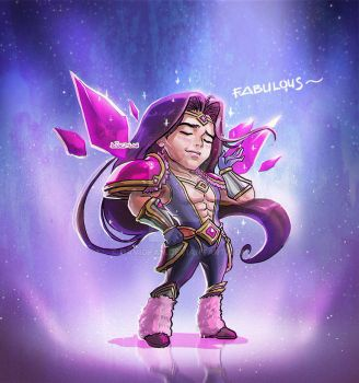 Armor of the Fifth Age Taric by DavidPan