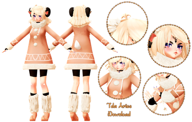 [MMD DL] Tda Aries the Ram v1.1 by Smol-Hooman