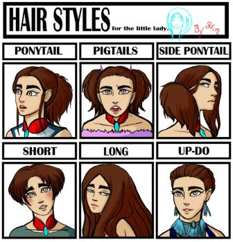 Hairstyle Meme with Niya by R1NG0TEA