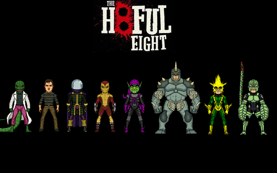 The Hateful Eight by Jalil1m