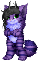 Lavander Kitty Furvilla Paintie Version 2.0 by BlueFoxThom