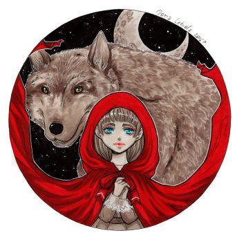 Illustration: Red Riding Hood by Dar-chan