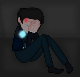 D:BH - Connor cry by FJesseMCSM