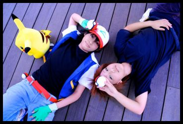 Cosplay - Gotta catch em all by Golden-feline