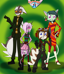 Dreamkeepers as The Psychonauts by Leokingdom10
