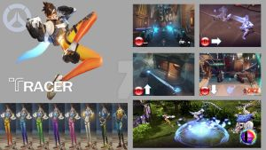 Tracer Super Smash Bros Moveset by Hyrule64