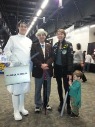 Doctor Horrible, 7th Doctor and Ace at SCEE 2014 by xayoz77