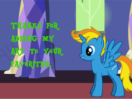 Thanks for the Fave by Radiant-Sword