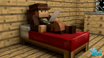 DaZZ On A Bed - Sneak Peak of Upcoming Video by CraftDAnimation