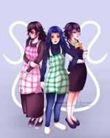 [ Able sisters - Human Concept ] by xanamei-chan