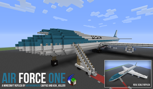 [Minecraft] Air Force One by McTaylis