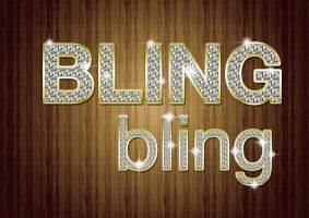 Bling Photoshop Style Kit by MelissaReneePohl