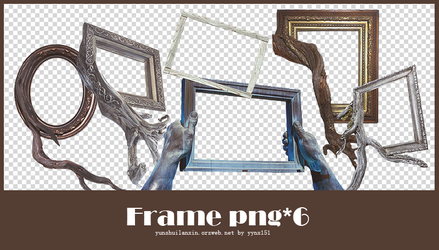 Frame png pack #01 by yynx151