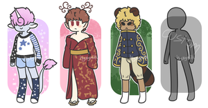 kemonomimi/furry adopts [2/3 open] - reduced price by hyungmilk