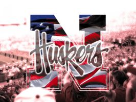 Huskers American Wallpaper by jst07