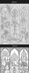 progress of Ent the shepherd of forest by breath-art