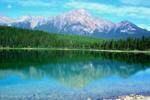 Mountain reflection by Pure-and-Simple