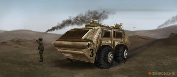 Targetting Support Vehicle by Turbosnail