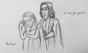 Danys grief quick sketch (GoT Spoiler!) by JuanaSunfall