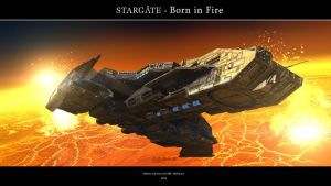 Stargate - Born in Fire by Mallacore