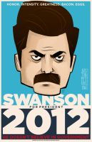 Swanson for President by JustinPeterson