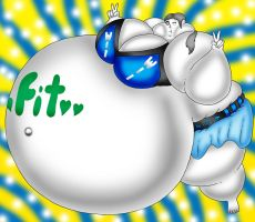 Wii Fit Balloon Sumo by Spit-Fire233