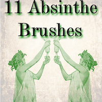 11 Absinthe Brushes by LookCrazy