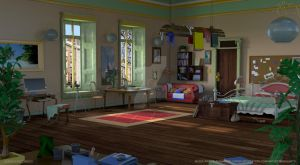 Jessica Escobedo | Nico Apartment - Broken Sword by mediaartsdallas