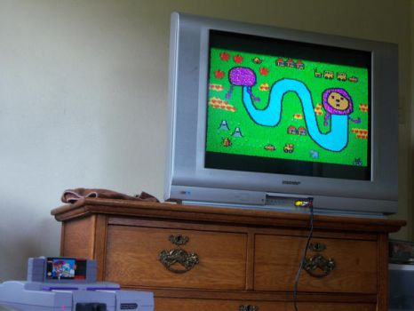 noby noby mario paint by penguinguy