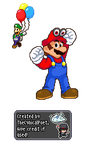 Let's Do The Odyssey! - Super Mario Odyssey Sprite by TheCynicalPoet