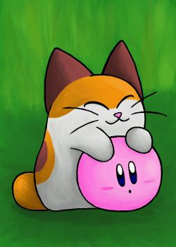 Nago and Kirby by MudSaw